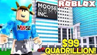 ROBLOX BUSINESS SIMULATOR! *MAKING $99 QUADRILLION COMPANY*