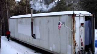 Bug Out  Shipping Container Cabin.MPG
