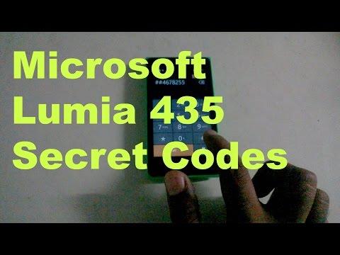 Microsoft Lumia 435 Secret Codes