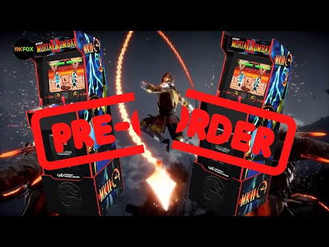 Arcade1up Midway Legacy Preorder Fatality! from 19kfox