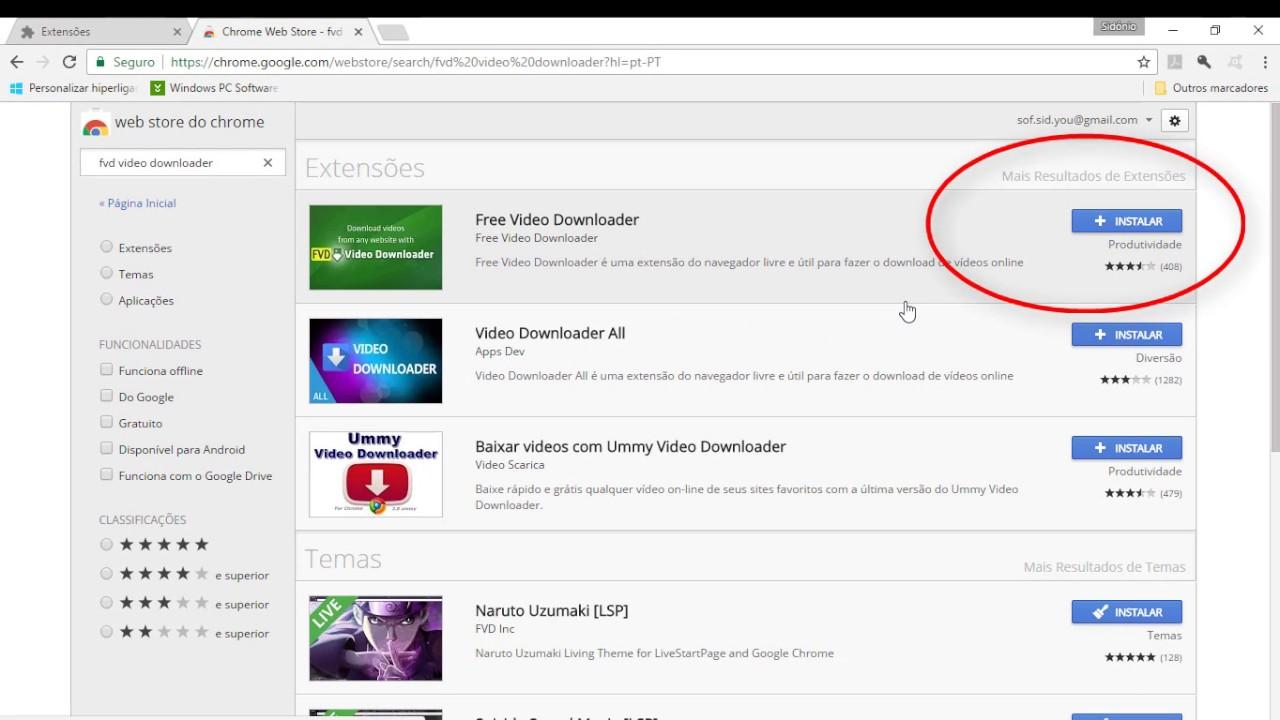 Extensao Para Download De Videos Sem Programas Youtube