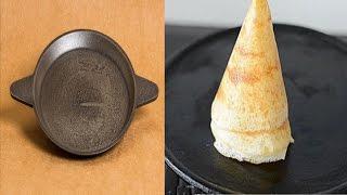 How to Clean or Season Cast Iron Dosa Pan(Tawa) and How to Prepare Crispy Dosa on Cast Iron Pan/Tawa