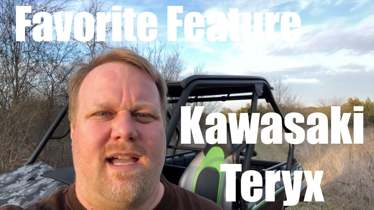 Favorite Feature Kawasaki Teryx- Metal Wheel Wells
