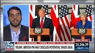 Kassam Tells Fox: Trump is Right, Sadiq Khan is a Stone Cold Loser