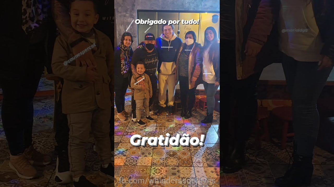 WHINDERSSON REALIZANDO SONHO DE UM FÃ