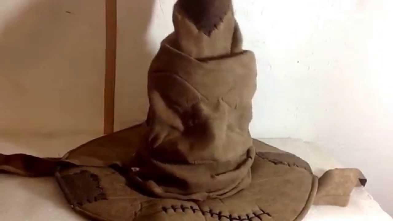 sombrero seleccionador de Harry Potter - YouTube 2da3f127cb0