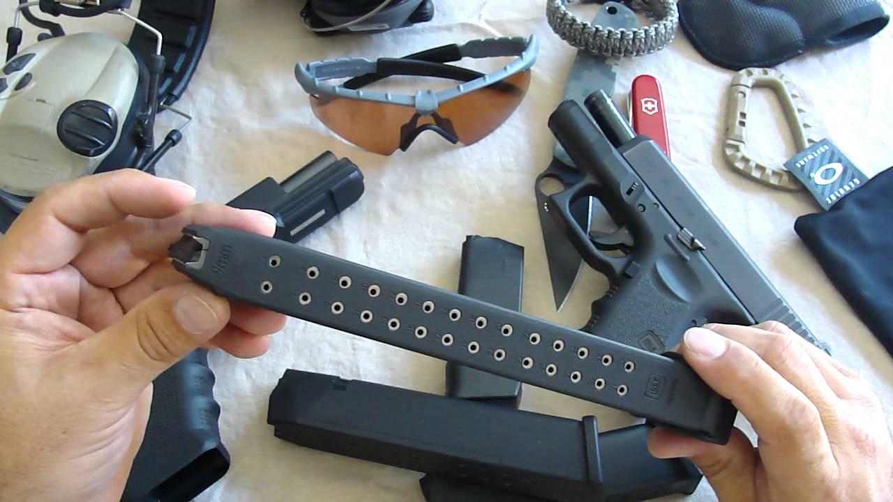Glock 9mm 33 Round Magazine Youtube