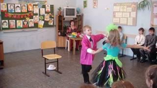 """2010 """"Росток"""" Юра и Настя на утреннике 8 марта 2010г."""