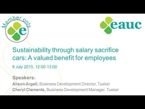 Sustainability through salary sacrifice cars: A valued benefit for employees