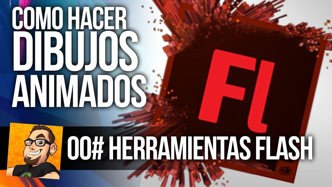 CONCEPTOS BSICOS DE FLASH  COMO HACER DIBUJOS ANIMADOS  YouTube