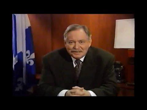 Référendum 1995 - Discours de la victoire du OUI - FR/EN
