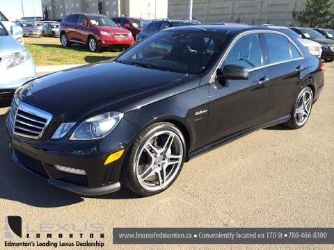 Pre owned black 2010 mercedes benz e class 4dr sdn e63 amg for Mercedes benz e class black