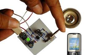 Het maken van eenvoudige mini-versterker schakeling ingang 5V DC gebruik met Smart-phone