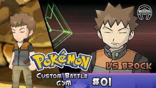 Pokemon Omega Ruby/Alpha Sapphire - RED VS. BROCK! [Battle Gym #1]