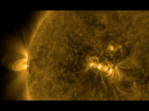 Solar Flare, Eruptions, Nova Science | S0 News Aug.20.2017