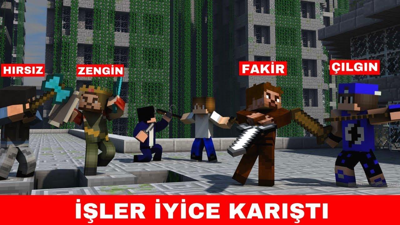 Fire Tech Zengin Vs Fakir 221 Isler Iyice Karisti Minecraft Xboxviewtv