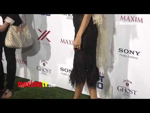 Dawn Olivieri 2013 MAXIM HOT 100 Party Green Carpet ARRIVALS