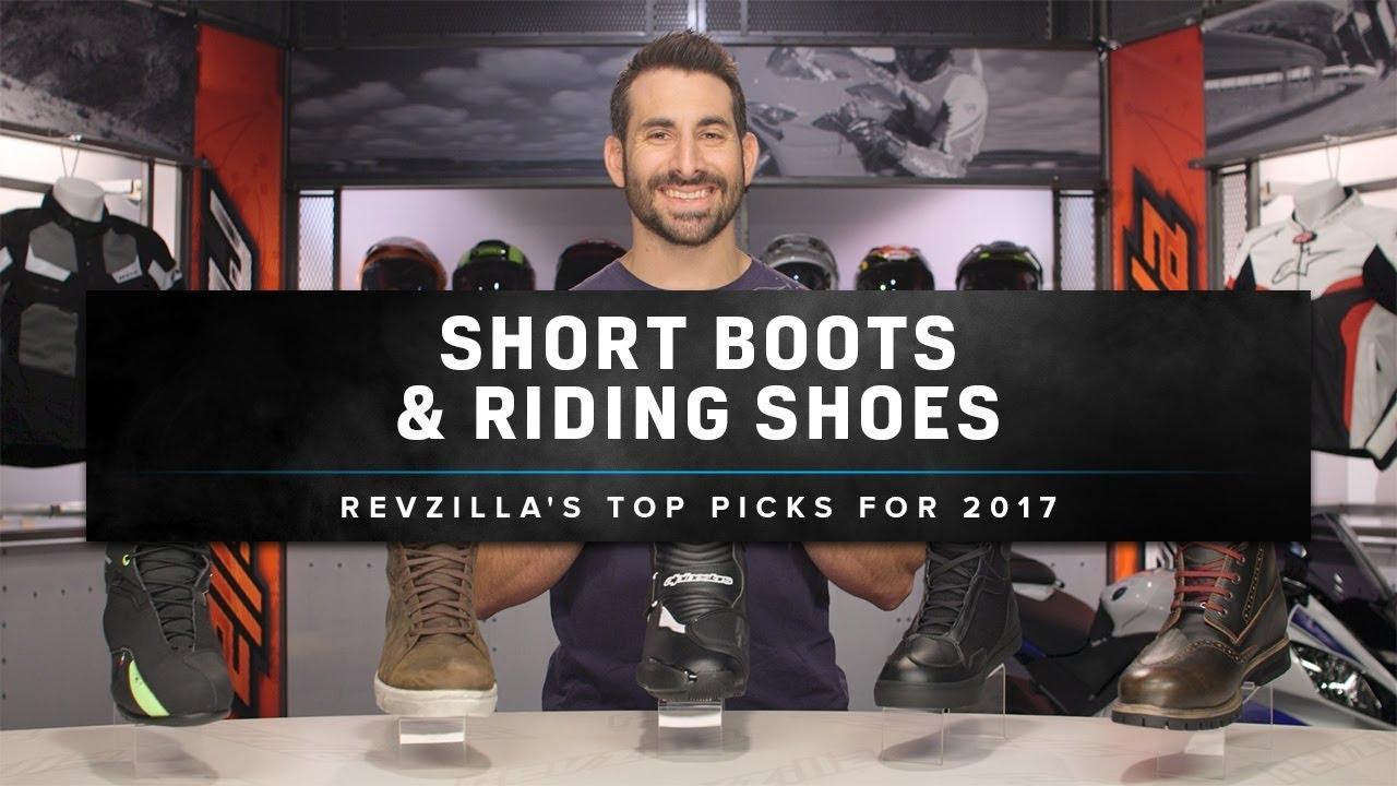 Short Riding Boots 2017 at RevZilla.com