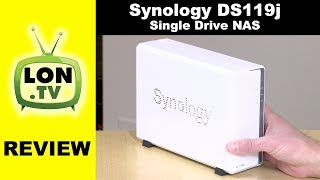 Synology DS119j Review - $100 Single Drive NAS Device