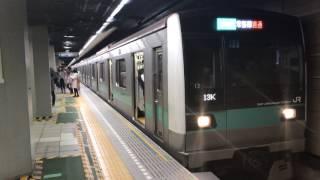 【4K】東京メトロ千代田線   JR東日本E233系2000番台 マト12編成  JR常磐線直通 普通 我孫子行き 大手町駅 発車
