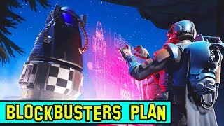 BLOCKBUSTER PLANS TO LAUNCH ROCKET!! *NEW* FORTNITE STORY-LINE! EXPLAINED