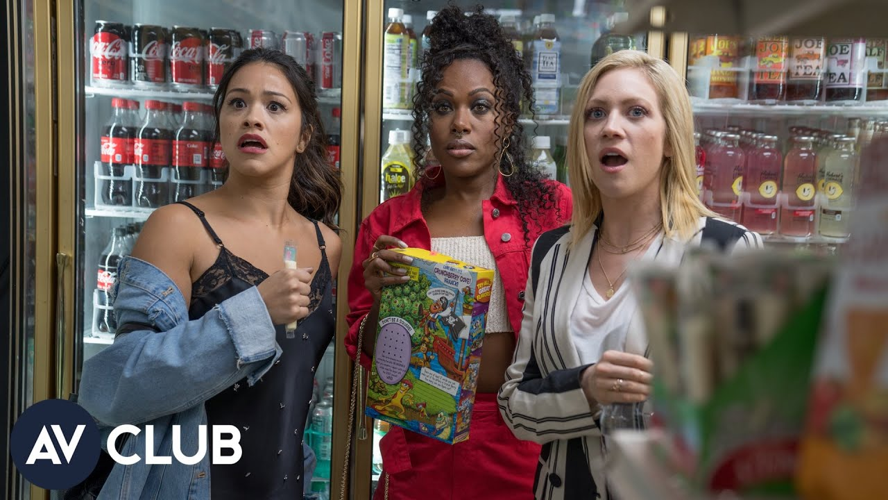 Download Gina Rodriguez, DeWanda Wise, and Brittany Snow on Someone Great and female friendship