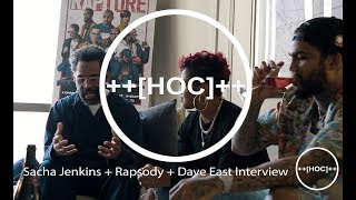 "Sacha Jenkins, Dave East, & Rapsody Discuss Netflix's Original Documentary Series, ""Rapture"""