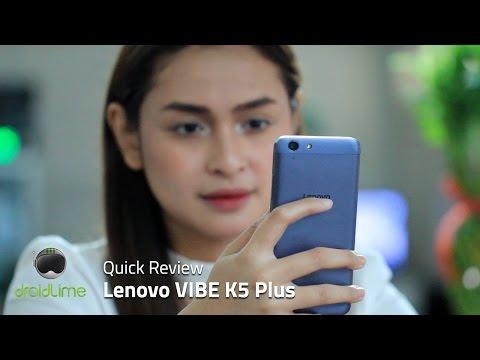 Lenovo VIBE K5 Plus Quick Review
