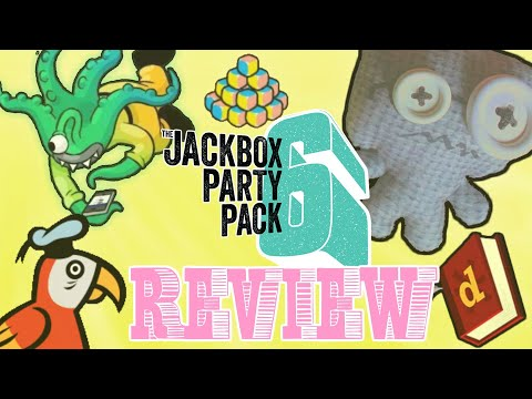 The Jackbox Party Pack 6 Review u0026 Individual Game Summary   2 Left Thumbs   Jackbox 6 Review