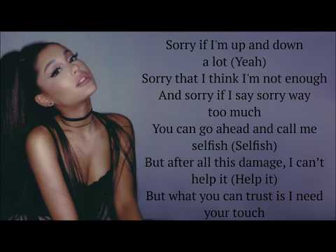 Ariana Grande ~ needy ~ Lyrics