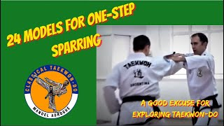 Taekwon-Do 24 models for traditional one-step sparring