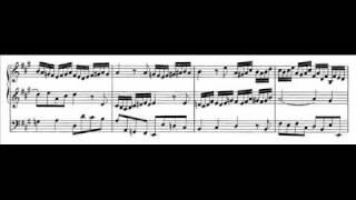 J.S. Bach - BWV 664 - Trio super: Allein Gott in der Höh' sei Ehr'