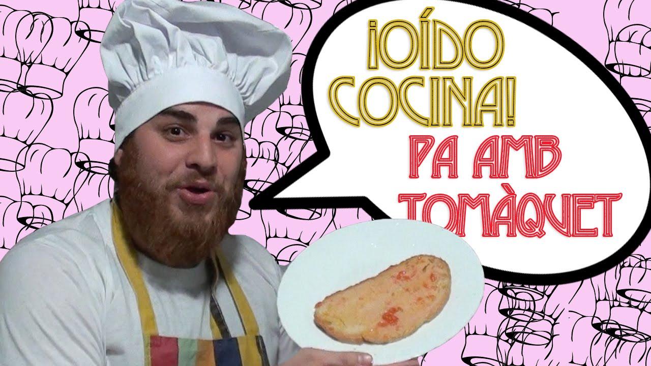 O do cocina preparamos un rico pan con tomate pa amb - Oido cocina coruna ...