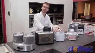Thomas vous présente les sorbetières - Electros et Cuisines DEFITEC