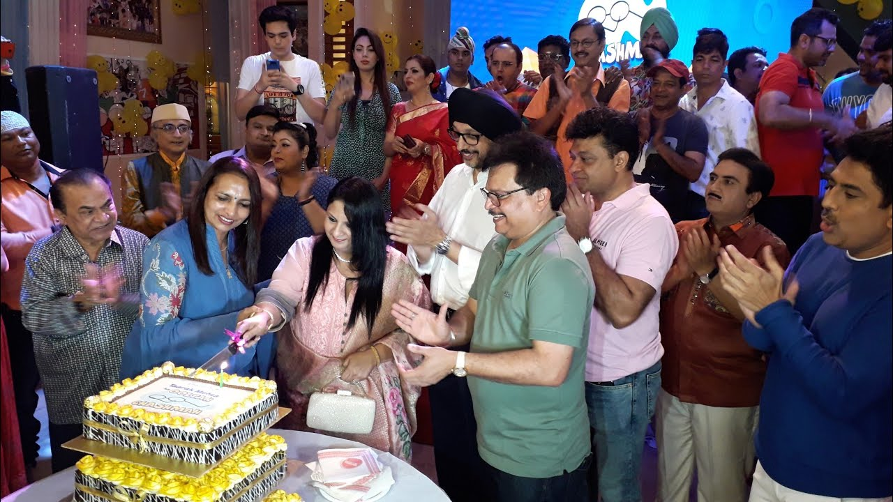 Download Uncut Video :- Taarak Mehta Ka Ooltah Chashmah Completed 11 Years  Dilip Joshi  Munmun Dutta  Disha