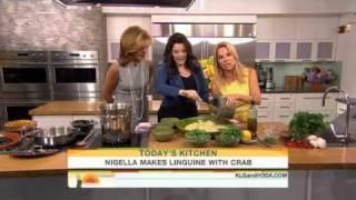 Nigella Lawson - Linguine With Crab, Chilli And Watercress
