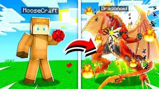Playing BAKUGAN Dragonoid in Minecraft! (Battle Planet)