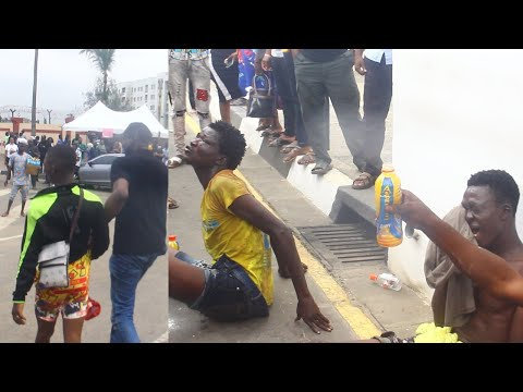 SEE HOW THUGS DESTROY ENDSARS PROTEST IN LAGOS