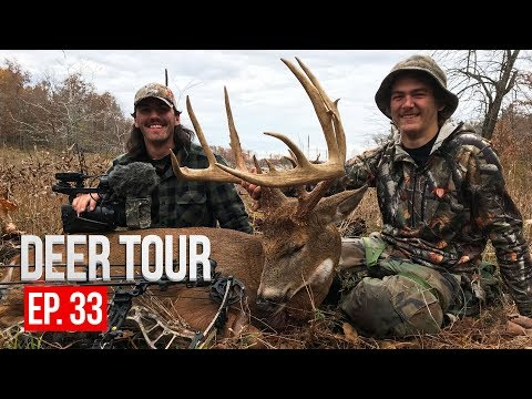 GIANT MISSOURI BUCK!  Ted's Public Land Monster - DEER TOUR E33