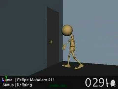 Felipe Mahalem - AnimationMentor Progress Reel 2007