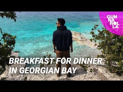 A&W All-Day Breakfast Adventure in Georgian Bay