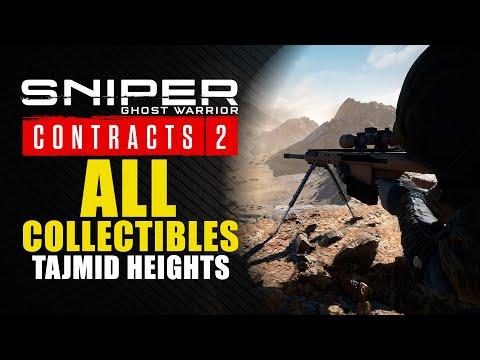 Sniper Ghost Warrior Contracts 2 guía - Dónde encontrar los 5 coleccionables de los Altos de Tajmid