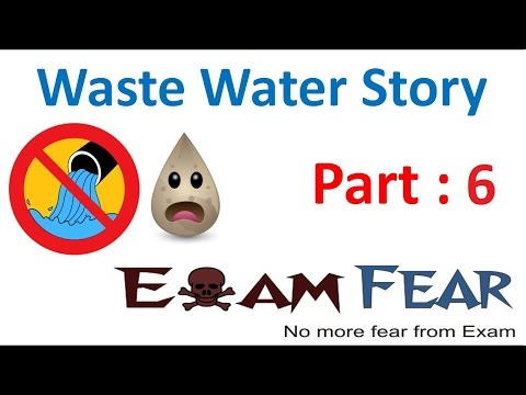 Biology Waste Water Story Part 6 (Secondary treatment of Sewage) Class 7 VII