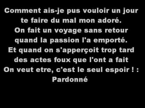 Demander Pardon Sherazade Parole