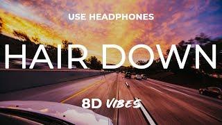 SiR - Hair Down ft. Kendrick Lamar (8D AUDIO) 🎧