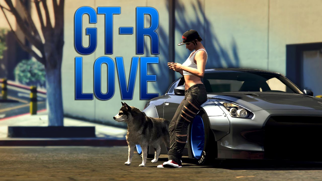 Gta 5 Gtr Drifting Love Liberty Walk R35 Gtr Drift