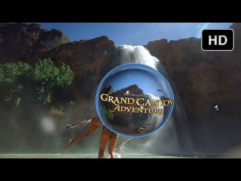 """IMAX 3D Special Effects - CGI Bubbles Scenes from """"Grand Canyon Adventure"""" (HD)"""