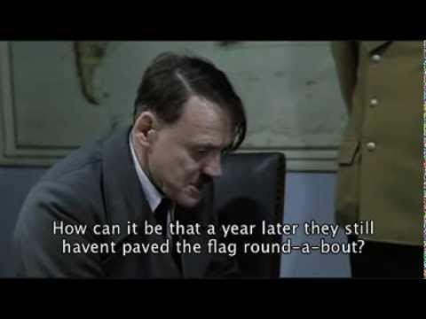 Hitler Reacts to Belize City Streets