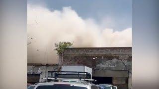Землетрясение в Мексике. Видео очевидцев