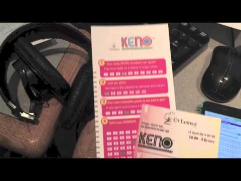 60 Seconds Behind The Scenes: CT Lottery Debuts Keno!